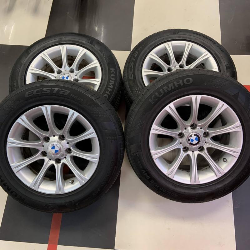 4 Шины Kumho Ecsta HS51 205/50 R15 на дисках BMW