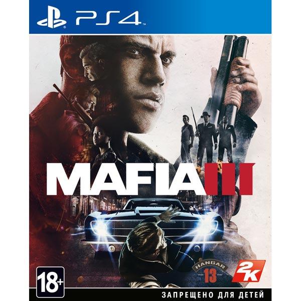 Диск PS4 Mafia III