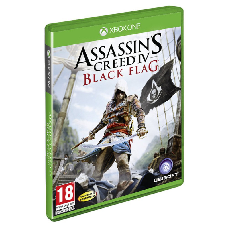 Диск XBOX ONE Assasin Creed 4 Черный флаг