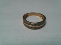 Кольцо с 100 брилл Золото 585 (14K) вес 2.85 г