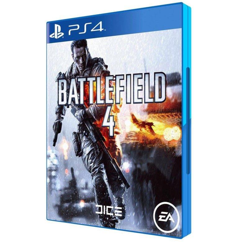 Диск для PS4 Battlefield 4 Premium Edition