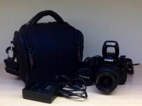 Зеркальный фотоаппарат Canon EOS 600D Kit 18-55, в чехле Н-20