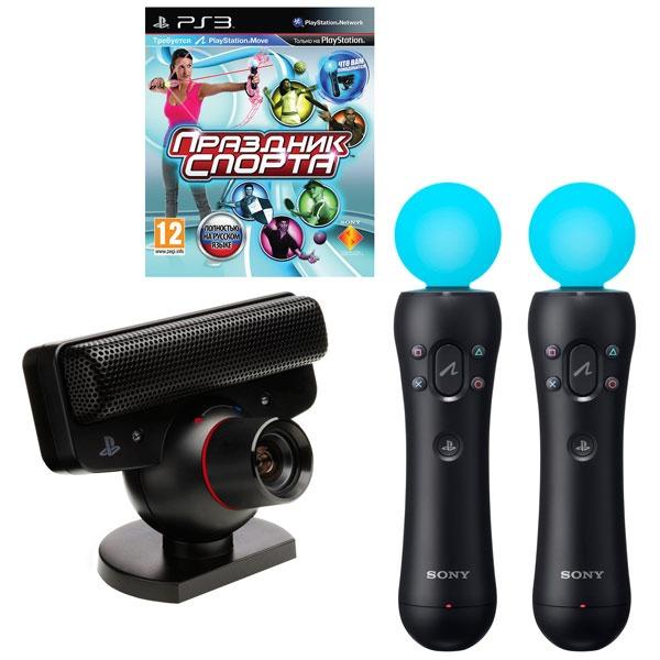 Камера для PS3 + 2 мува и 2 диска