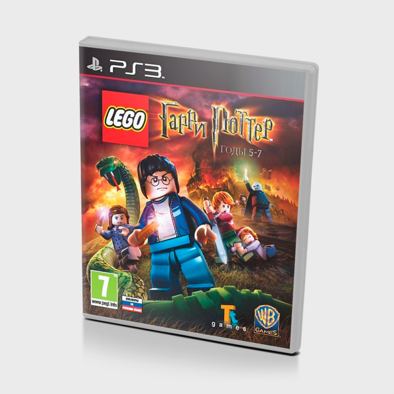 Диск для PS3 LEGO Harry Potter: Years 5-7