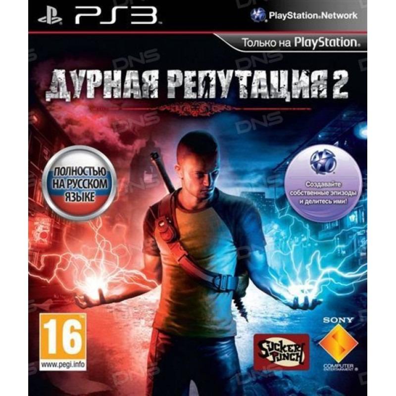 Диск для PS3 InFamous 2
