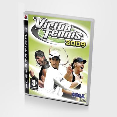 Диск для PS3 Virtua Tennis 2009