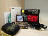 Фотоаппарат Nikon Coolpix S3200 в коробке, з/у,р-во,чехол