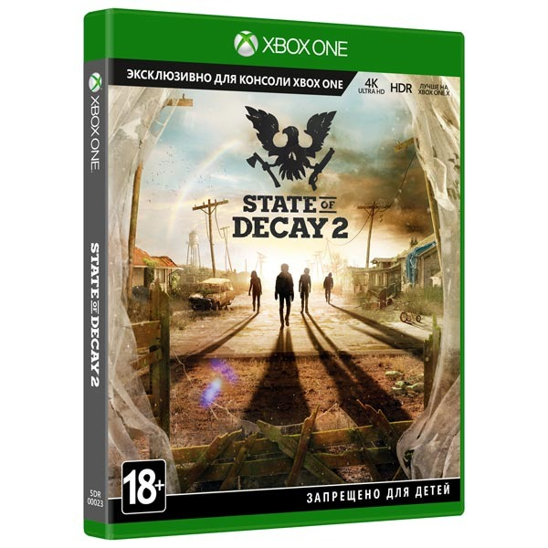 Диск XBOX One State of Decay 2