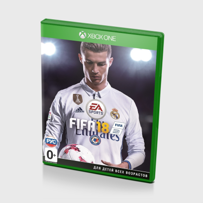 Диск для Xbox One Fifa 18