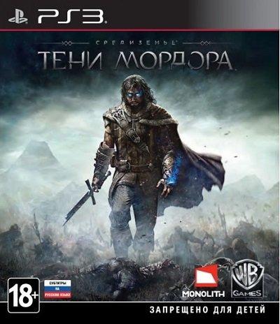 Диск PS3 Средиземье: Тени Мордора