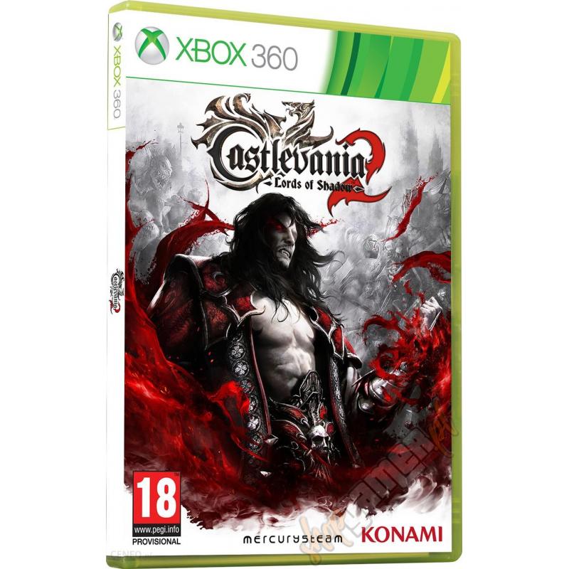 Диск для Xbox 360 Castlevania: Lords of Shadow