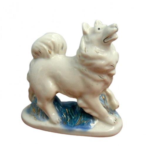 Фарфоровая статуэтка «Лайка»