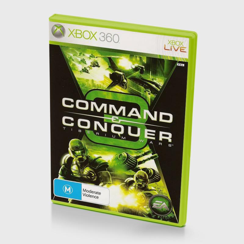 Диск для XBOX 360 Command & Conquer 3: Tiberium Wars