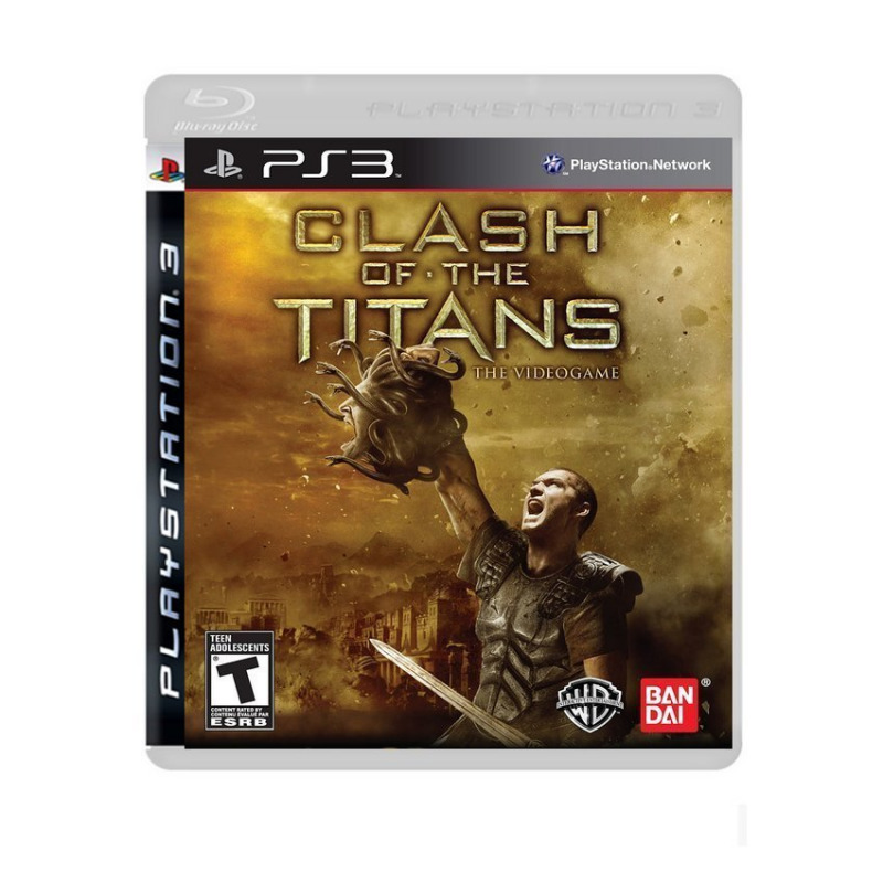 Диск для PS3 Clash of the Titans