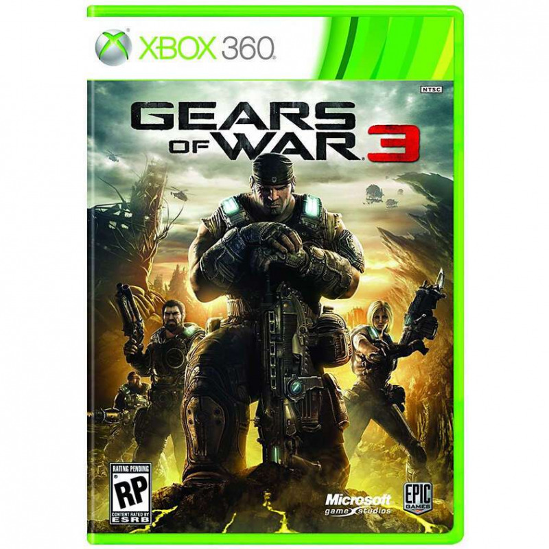 Диск для Xbox 360 Gears of War 3