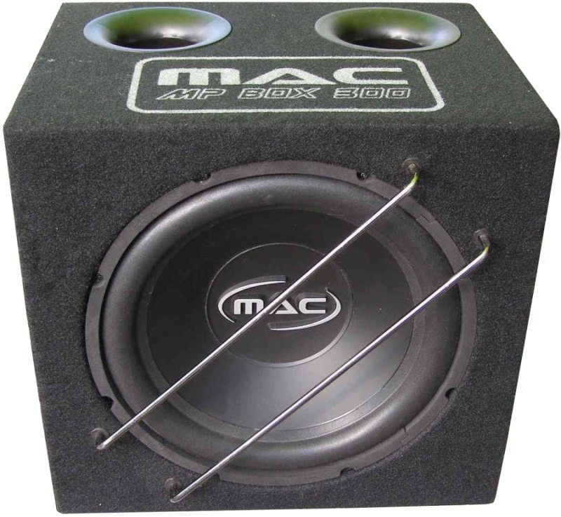 Автосабвуфер Mac Audio MP Box 300 и усилитель maxwatt m-2.50
