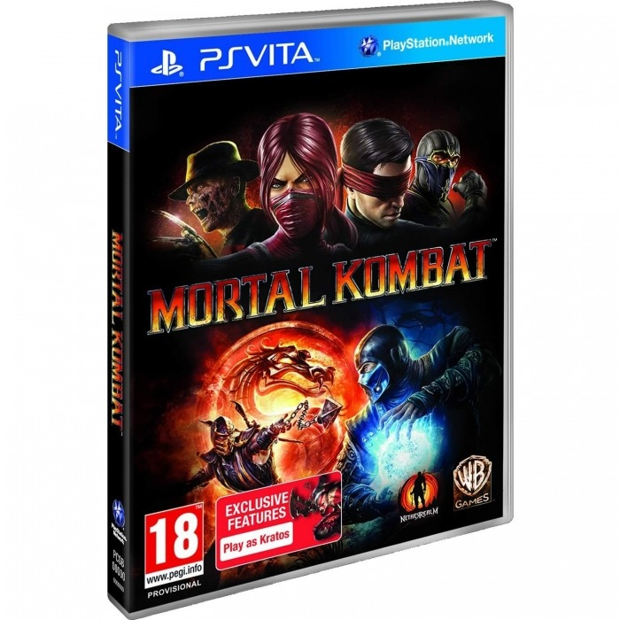 Диск для PS Vita Mortal Kombat