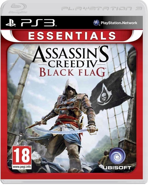 Диск PS3 Assassin's Creed IV: Black Flag