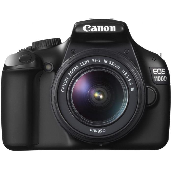 Зеркальный фотоаппарат Canon EOS 1100D Kit 18-55 IS Grey