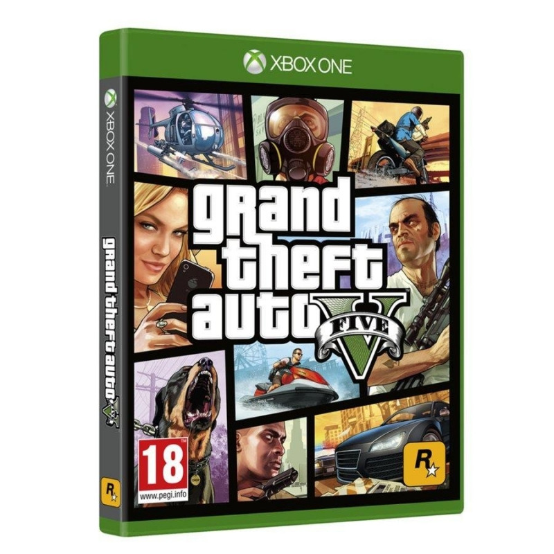 Диск для Xbox One GTA 5