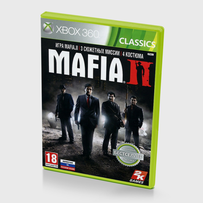 Диск для Xbox 360 Mafia II