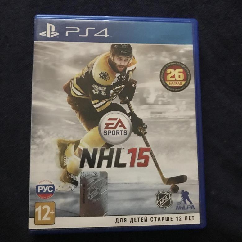 Диск для PS4 NHL15