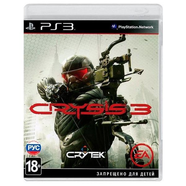 Диск для PS3 Crysis 3