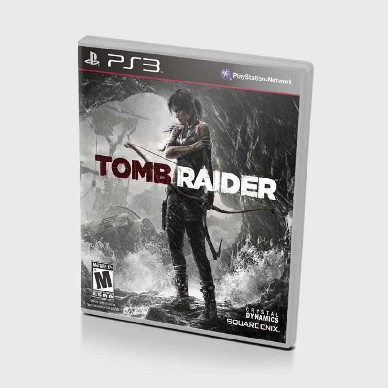 Диск PS-3 Tomb Raider