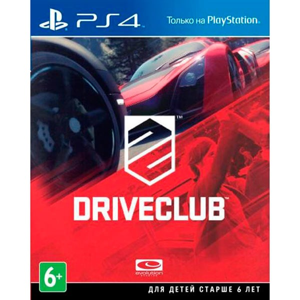 Диск PS4 Driveclub
