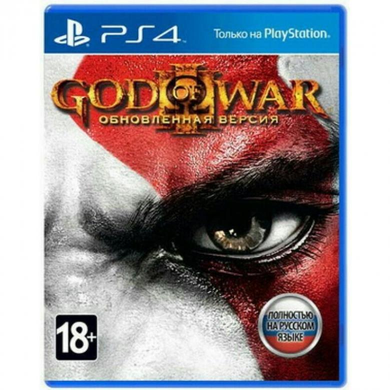 Игровой диск God of War 3