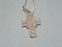 Крест серебряный Серебро 925 вес 1.58 г