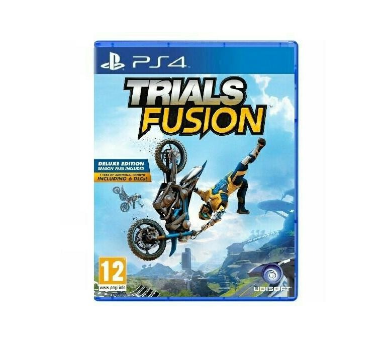 Диск на PS4 Trials fusion