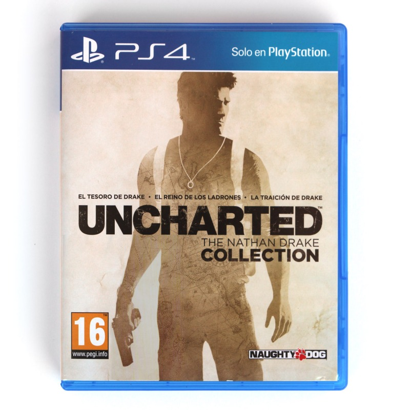 Диск для PS 4 Uncharted Натан Дрейк
