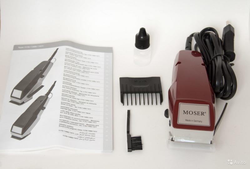Машинка для стрижки Moser Type 1400