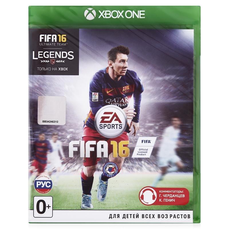 Диск для Xbox One FIFA 16
