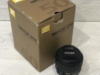 Объектив Nikon 50mm f/1.8G AF-S Nikkor Nikon