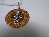 Подвеска зн.зодиака Золото 585 (14K) вес 2.89 г