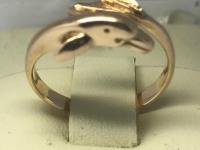 Кольцо-дельфин   Золото 585 (14K) вес 2.85 г