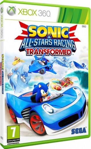 Диск Xbox 360 Sonic: All Stars Racing. Transformed