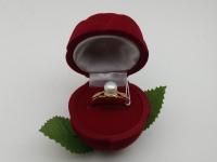 Кольцо с камнями Золото 585 (14K) вес 2.60 г