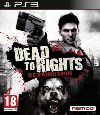 Диск PS3 Dead to Rights: Retribution
