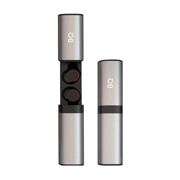 Беспроводные наушники BQ BHS-02, gray