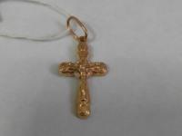 Крест  Золото 585 (14K) вес 1.05 г