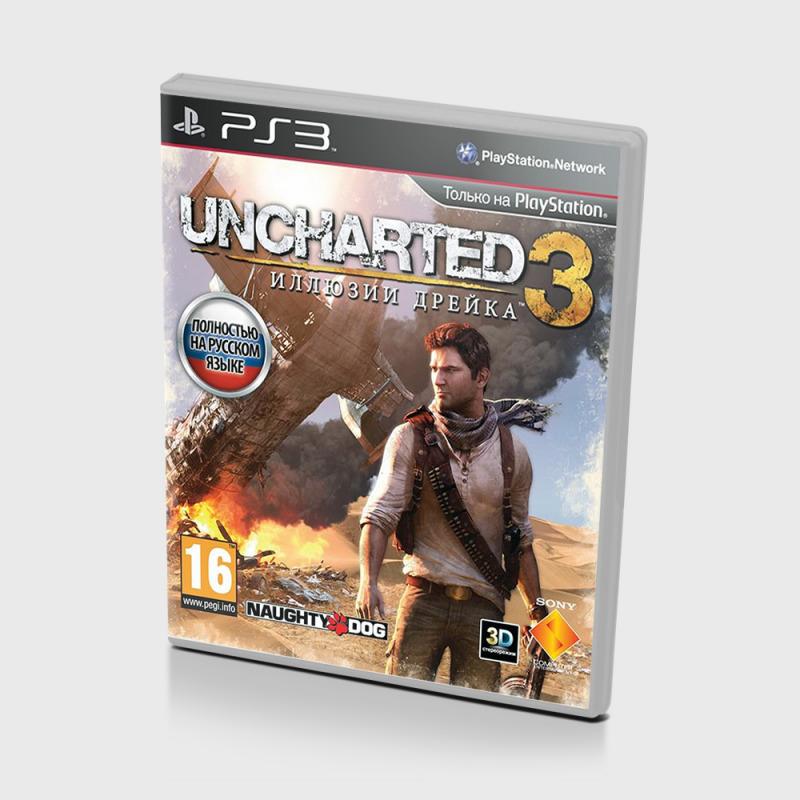 Диск для PS3 Uncharted 3 Иллюзии Дрейка