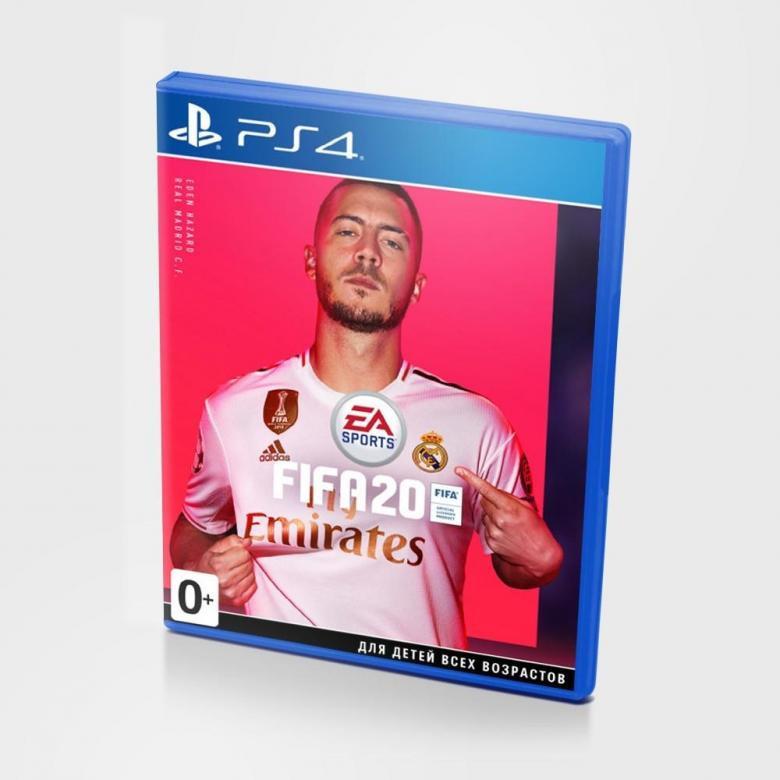 Диск для PS4 FiFa 20