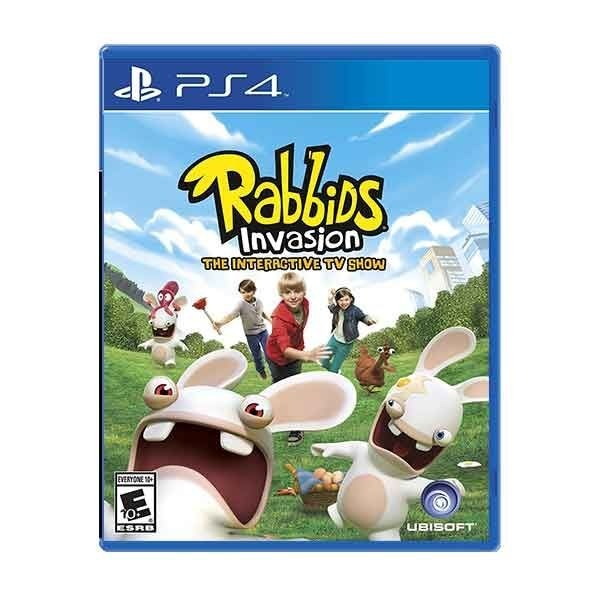 Диск PS4 Rabbids Invasion