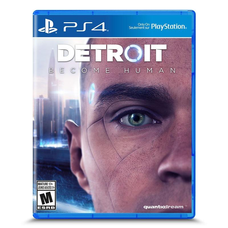 Диск для PS4 Detroit