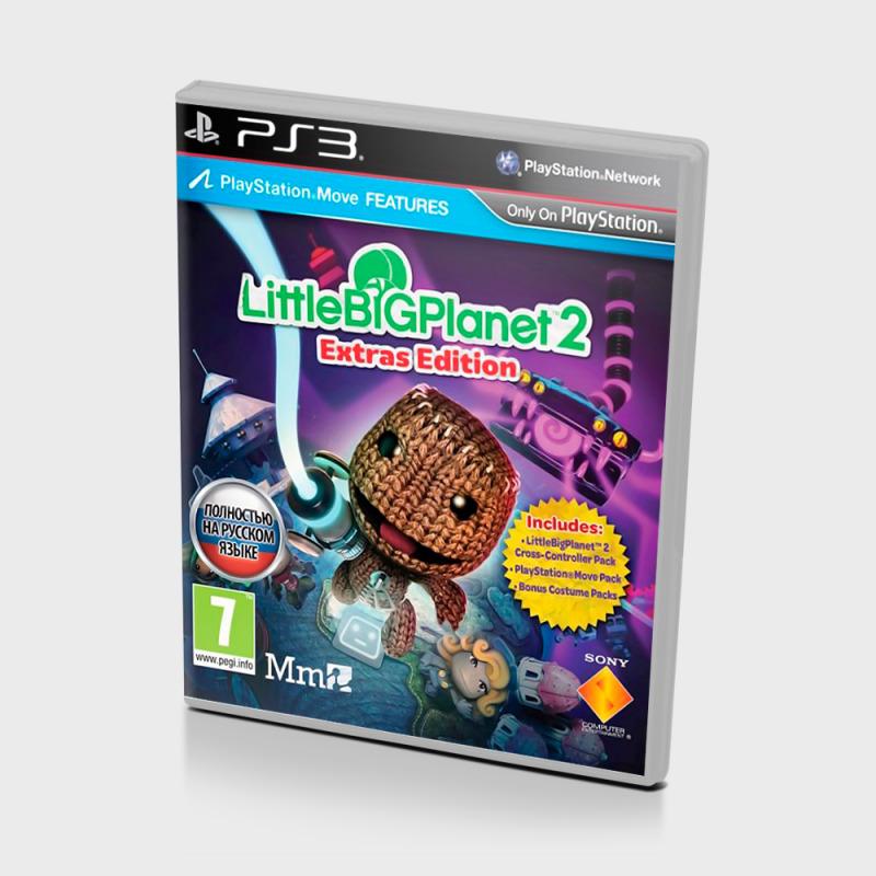 Диск для PS3 Little BIG Planet 2