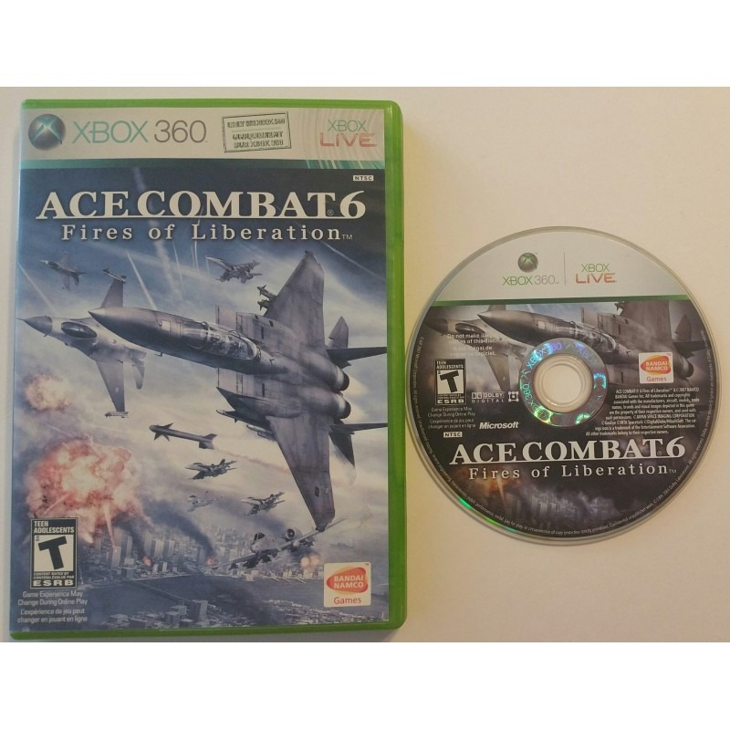 Диск Xbox-360 Ace Combat