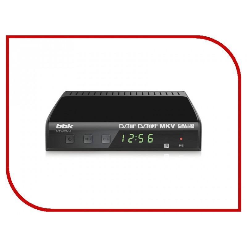 ТВ приставка BBK SMP021HDT2